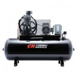 Campbell Hausfeld Electric Stationary Air Compressor — 7.5 HP, 24.3 CFM @ 175 PSI, 230 Volt Single Phase, Model# CE7005