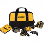 DEWALT FLEXVOLT 60 Volt MAX Brushless 4 1/2in.–6in. Grinder Kit — 2 FLEXVOLT Batteries, Model# DCG414T2