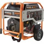 Generac XG10000E Portable Generator — 12,500 Surge Watts, 10,000 Rated Watts, Model# 5802