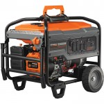 Generac Portable Generator — 8125 Surge Watts, 6500 Rated Watts, Electric Start, Model# 6825