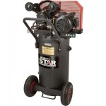 NorthStar Single-Stage Portable Electric Air Compressor — 2 HP, 20-Gallon Vertical, 5.0 CFM