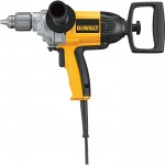 DEWALT Heavy-Duty Spade Handle Corded Electric Drill — 1/2in. Chuck, 9.0 Amp, 550 RPM, Model# DW130V