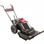 Swisher Self-Propelled Walk-Behind Rough Cut Mower — 3in.–4.75in.H, 24in.W Cutting Path, 10.2 HP, 389cc Honda Engine, Model# WHERC10224