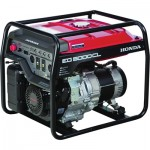 Honda EG5000 DAVR Series Portable Generator — 5000 Surge Watts, 4500 Rated Watts, CARB-Compliant, Model# EG5000CLAT
