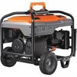 Generac Portable Generator — 8125 Surge Watts, 6500 Rated Watts, Model# 6823