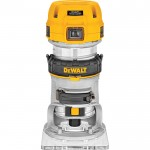 DEWALT Max Torque Variable Speed Compact Router — 1 1/4 HP, with LEDs, Model# DWP611