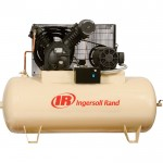 Ingersoll Rand Type-30 Reciprocating Air Compressor — 15 HP, 230 Volt 3 Phase, Model# 7100E15-V