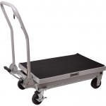 Roughneck Hydraulic Table Cart — 1,000-Lb. Capacity