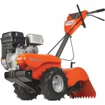 Husqvarna Rear Tine Tiller — 14in. Tilling Width, 208cc Briggs & Stratton Engine, Model# CRT900-CA