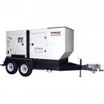 Generac Mobile Diesel Generator — Single/3-Phase, Model# 6791