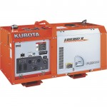 Kubota Lowboy II Diesel Generator — 11 kW, Model# G3112-00000
