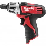 Milwaukee M12 Cordless Subcompact Driver — Tool Only, 12 Volt, 1/4in. Hex, Model# 2401-20