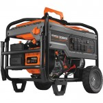 Generac Portable Generator — 10,000 Surge Watts, 8000 Rated Watts, Electric Start, Model# 6826