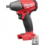 Milwaukee M18 FUEL 1/2in. Compact Impact Wrench — Bare Tool, Pin Detent, Model# 2755-20