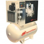 Ingersoll Rand Rotary Screw Compressor w/Total Air System — 230 Volts, Single-Phase, 5 HP, 18.5 CFM, Model# UP6-5TAS-125 230V1