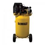 DeWALT Portable Electric Air Compressor — 1.9 HP, 30-Gallon Vertical, 5.7 CFM, Model # DXCMLA1983054