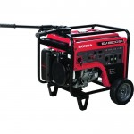 Honda EM6500S iAVR Series Portable Generator — 6500 Surge Watts, 5500 Rated Watts, Electric Start, CARB-Compliant, Model# EM6500SXK2AT