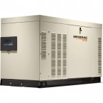 Generac Liquid-Cooled Home Standby Generator — 30 kW (LP)/27 kW (NG), Model# RG03015ANAX