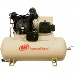 Ingersoll Rand Electric Stationary Air Compressor (Fully Packaged) — 15 HP, 50 CFM At 175 PSI, 230 Volts, Model# 7100E15-P