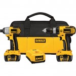 DEWALT 18V XRP Cordless Hammerdrill/Impact Driver Combo Kit — With 2 Batteries, Model# DCK274L