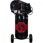 Chicago Pneumatic Portable Electric Air Compressor — 2 HP, 26 Gallon Vertical, 7.0 CFM, Model# 8090254130