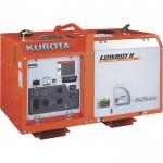 Kubota Lowboy II Diesel Generator — 7 kW, Model# G3102-00000