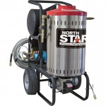 NorthStar Electric Wet Steam & Hot Water Pressure Washer — 2000 PSI, 1.5 GPM, 120 Volt