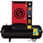 Chicago Pneumatic Quiet Rotary Screw Air Compressor — 7.5 HP, 230 Volts, 3 Phase, Model# QRS7.5HP-3