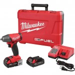 Milwaukee M18 FUEL 3/8in. Compact Impact Wrench Kit — With 2 Compact Batteries, 2.0Ah, Model# 2754-22CT