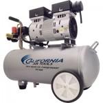 California Air Tools Ultra-Quiet Portable Electric Air Compressor — 1 HP, 5.5-Gallon Horizontal, 2.2 CFM, Model# 5510SE