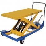 Vestil Manual Scissor Cart — 1,000-lb. Capacity, 48in.L x 24in.W Platform, Model# CART-24-10-M