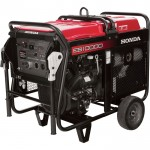 Honda EB10000 DAVR Series Portable Generator — 10,000 Surge Watts, 9000 Rated Watts, Electric Start, Model# EB10000AH