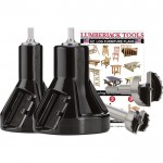 Lumberjack Tools Commercial Series Tenon Cutter Kit — Starter Kit, 1in. & 2in. Tenon Cutters and Forstner Bits, Model# CSK2
