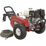 NorthStar Gas Cold Water Pressure Washer — 4000 PSI, 3.5 GPM, Honda Engine, Belt Drive, Model# 1572041