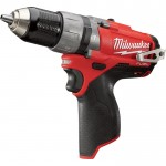 Milwaukee M12 FUEL Cordless Hammer Drill/Driver — Tool Only, 1/2in. Chuck, 12 Volt, Model# 2404-20