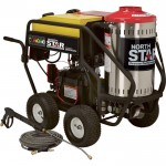 NorthStar Gas Wet Steam & Hot Water Pressure Washer — 3,000 PSI, 4.0 GPM, Honda Engine