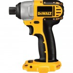 DEWALT Compact Cordless Impact Driver — Tool Only, 18V, 1/4in., Model# DC825B