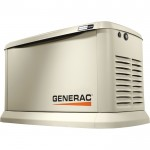 Generac Guardian Series Air-Cooled Standby Generator — 20kW (LP)/17 kW (NG), 3-Phase, Model# 7077