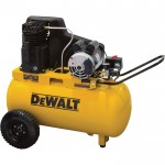 DEWALT Portable Electric Air Compressor — 1.9 HP, 20-Gallon Horizontal, 5.7 CFM, Model# DXCMPA1982054