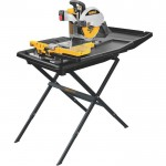 DEWALT Wet Tile Saw with Stand — 10in., Model# D24000S