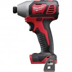 Milwaukee M18 Cordless Compact Impact Driver — Tool Only, 1/4in. Hex Chuck, 18 Volt, Model# 2657-20