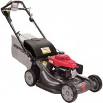 Honda Self-Propelled Push Lawn Mower — 190cc Honda GCV Engine with Electric Start, 21in. Deck, Model# HRX2175HZA