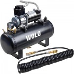 WOLO Tornado Heavy-Duty Compressor with 2.5-Gal. Tank — 21 Amps, Model# 858