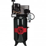 Chicago Pneumatic Reciprocating Air Compressor — 7.5 HP, 80 Gallon, 208-230 Volt, 1-Phase, Model# RCP7581VS