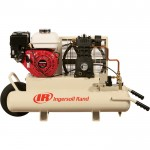 Ingersoll Rand Gas Portable Air Compressor — 5.5 HP, 11.8 CFM At 90 PSI, Model# SS3J5.5GHWB