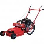 Sarlo High Wheel Push Lawn Mower — Briggs & Stratton Engine, 26in. Deck, Model# 1026SS