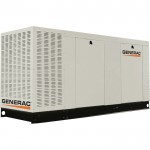 Generac Commercial Series Liquid-Cooled Standby Generator — 80 kW, 120/240 Volts, Single Phase, NG, Model# QT08054ANAX