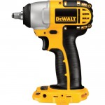 DEWALT Compact Cordless Impact Wrench — Tool Only, 18V, 3/8in., Model# DC823B
