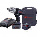 Ingersoll Rand IQv20 Series Cordless Impact Wrench Kit — 20 Volt, 1/2in. Drive, 2 Batteries, Model# W7150-K2