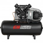 Campbell Hausfeld Two-Stage Air Compressor — 15 HP, 50 CFM @ 175 PSI, 208-230/460 Volt Three Phase, Model# CE8003